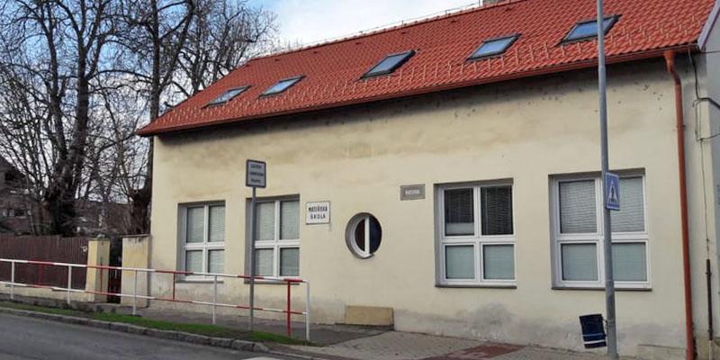 MŠ budova v ulici Husova